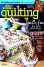 Журнал - American Patchwork & Quilting vol.26 2018-1