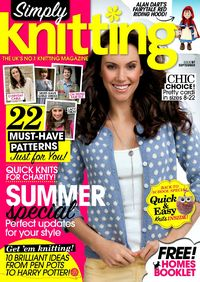 Журнал - Simply Knitting 2012-97 (September)