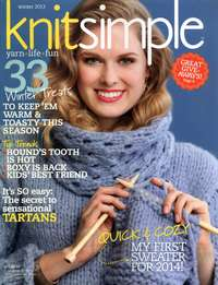 Журнал - Knit Simple - Winter 2013