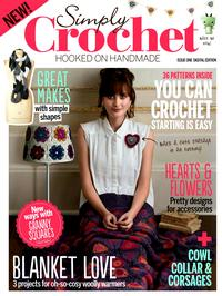 Журнал - Simply Crochet Issue ONE 2013