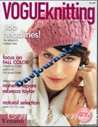 Журнал - Vogue Knitting International Осень, 2009