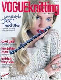 Журнал - Vogue Knitting holiday 2009
