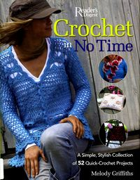 Журнал - Crochet In No Time. Melody Griffiths