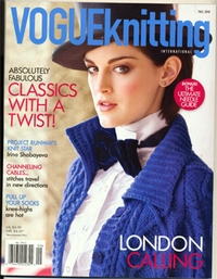 Журнал - Vogue Knitting International Fall 2010 (II)