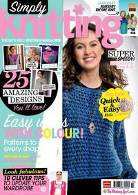 Журнал - Simply  Knitting 2012-90 (March)