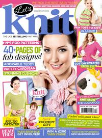 Журнал - Let's Knit Issue 2015-1