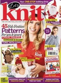 Журнал - Let's Knit Single Issue Xmas Spec 2014-14