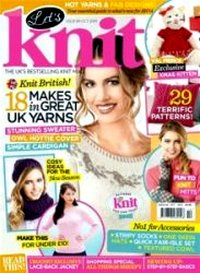 Журнал - Let's Knit Issue 2014-84