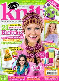 Журнал - Let's Knit Issue 2015-88