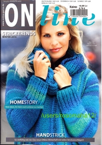 Журнал - ONline Stricktrends - Winter 2014